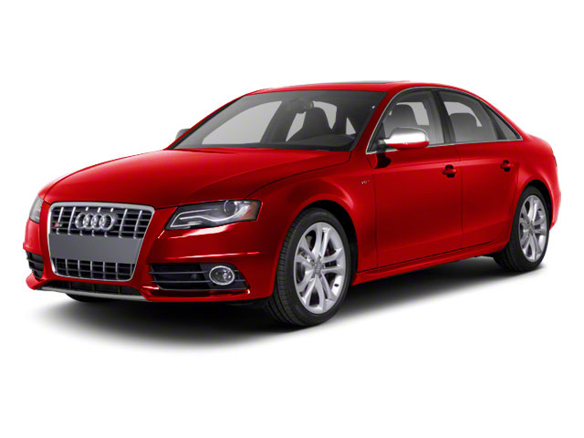 Brilliant Red 2010 Audi S4 Pictures S4 Sedan 4D Quattro photos front view