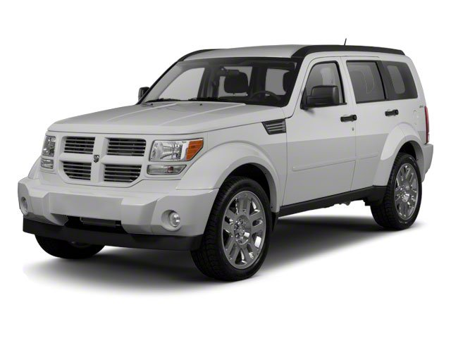 Bright Silver Metallic 2010 Dodge Nitro Pictures Nitro Utility 4D Shock 2WD photos front view