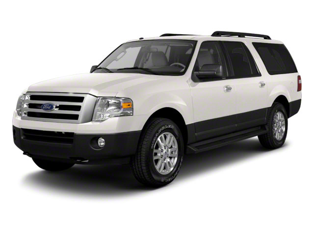 White Platinum Metallic Tri-Coat 2010 Ford Expedition EL Pictures Expedition EL Utility 4D King Ranch 4WD photos front view