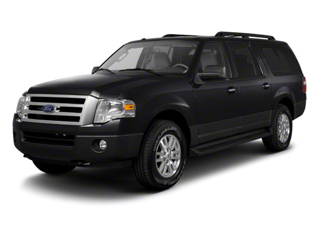 Tuxedo Black Metallic 2010 Ford Expedition EL Pictures Expedition EL Utility 4D King Ranch 4WD photos front view