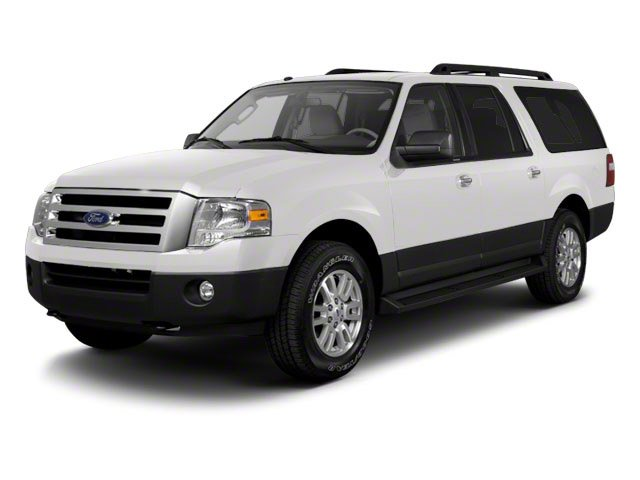 Oxford White 2010 Ford Expedition EL Pictures Expedition EL Utility 4D Eddie Bauer 2WD photos front view