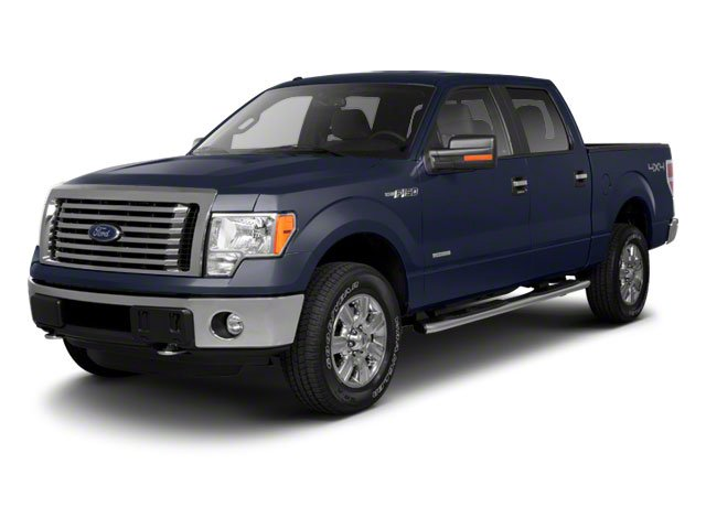 Dark Blue Pearl Metallic 2010 Ford F-150 Pictures F-150 SuperCrew Lariat 4WD photos front view