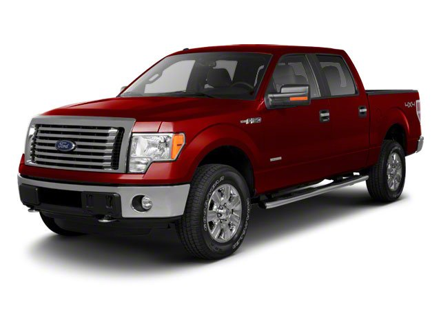 Vermillion Red 2010 Ford F-150 Pictures F-150 SuperCrew XLT 4WD photos front view