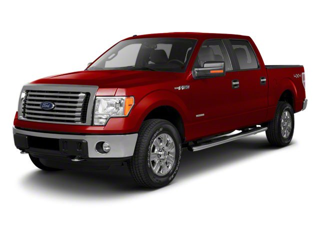 Red Candy Metallic 2010 Ford F-150 Pictures F-150 SuperCrew Lariat 4WD photos front view
