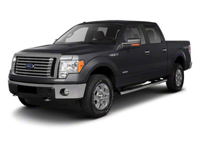 Tuxedo Black 2010 Ford F-150 Pictures F-150 SuperCrew Lariat 4WD photos front view