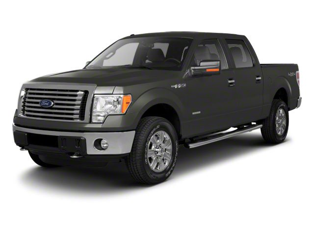 Sterling Grey Metallic 2010 Ford F-150 Pictures F-150 SuperCrew XLT 4WD photos front view