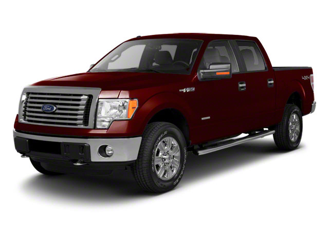 Royal Red Metallic 2010 Ford F-150 Pictures F-150 SuperCrew Lariat 4WD photos front view