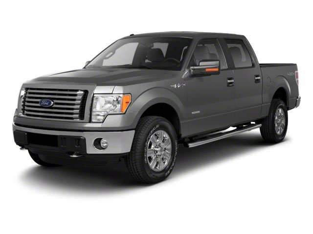 Ingot Silver 2010 Ford F-150 Pictures F-150 SuperCrew Lariat 4WD photos front view