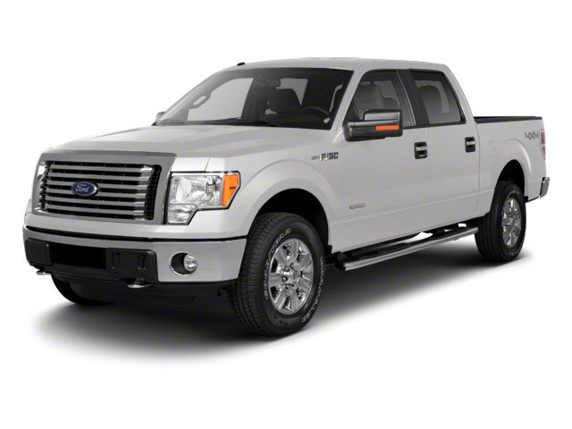 Oxford White 2010 Ford F-150 Pictures F-150 SuperCrew Lariat 4WD photos front view