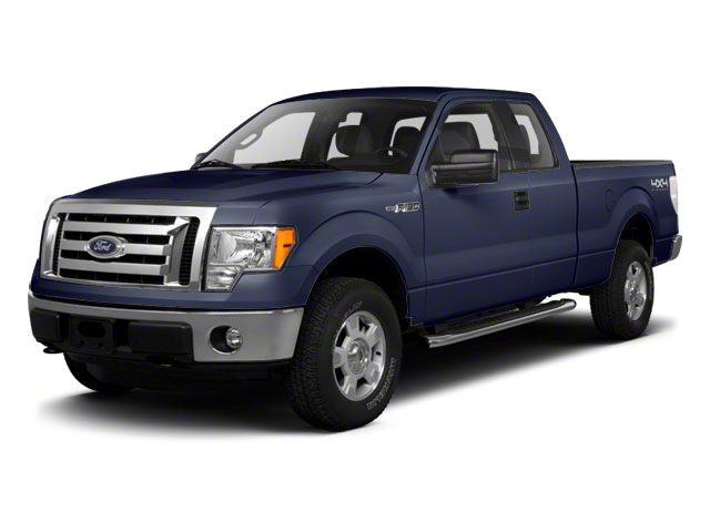 Dark Blue Pearl Metallic 2010 Ford F-150 Pictures F-150 SuperCab Lariat 2WD photos front view
