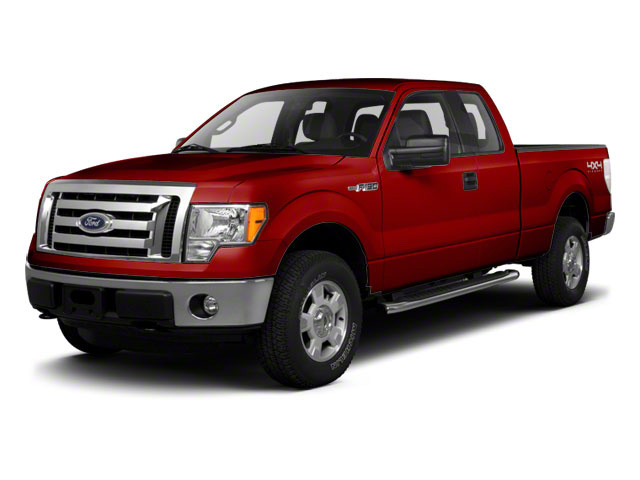Vermillion Red 2010 Ford F-150 Pictures F-150 Supercab XLT 4WD photos front view