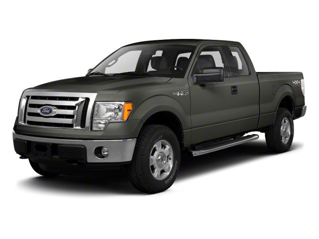 Sterling Grey Metallic 2010 Ford F-150 Pictures F-150 Supercab XLT 4WD photos front view