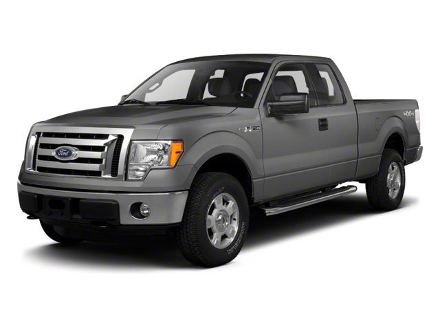 Ingot Silver 2010 Ford F-150 Pictures F-150 SuperCab Lariat 2WD photos front view
