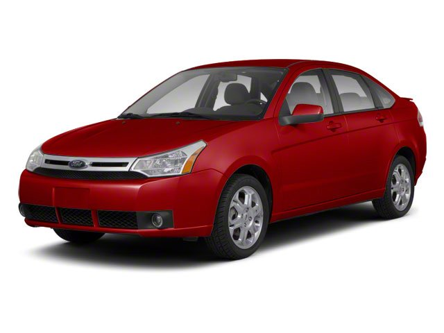 Sangria Red Metallic 2010 Ford Focus Pictures Focus Sedan 4D SE photos front view