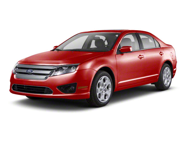 Red Candy Metallic Tinted 2010 Ford Fusion Pictures Fusion Sedan 4D SEL AWD photos front view