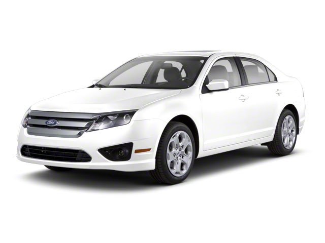 White Suede 2010 Ford Fusion Pictures Fusion Sedan 4D SEL AWD photos front view