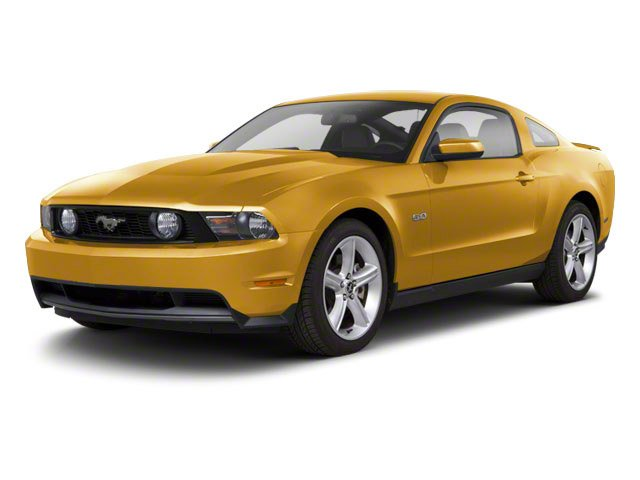 Sunset Gold Metallic 2010 Ford Mustang Pictures Mustang Coupe 2D photos front view