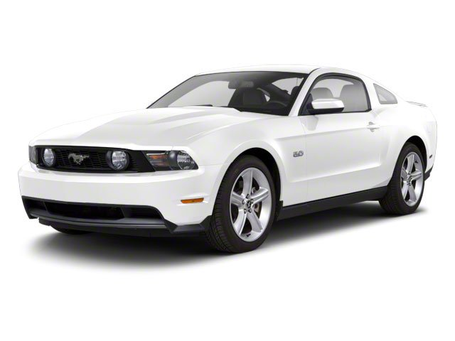 Performance White 2010 Ford Mustang Pictures Mustang Coupe 2D photos front view