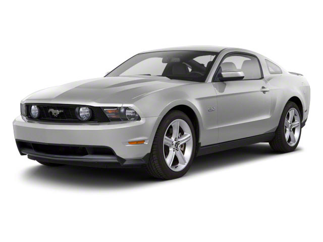 Brilliant Silver Metallic 2010 Ford Mustang Pictures Mustang Coupe 2D photos front view