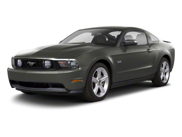 Sterling Grey Metallic 2010 Ford Mustang Pictures Mustang Coupe 2D photos front view