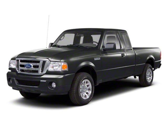 Dark Shadow Grey Metallic 2010 Ford Ranger Pictures Ranger Supercab 2D Sport photos front view