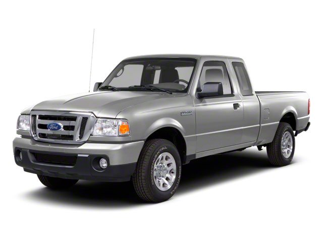 Silver Metallic 2010 Ford Ranger Pictures Ranger Supercab 2D Sport photos front view