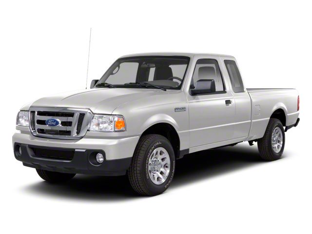 Oxford White 2010 Ford Ranger Pictures Ranger Supercab 2D Sport photos front view