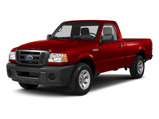 Redfire Metallic 2010 Ford Ranger Pictures Ranger Regular Cab XLT (4 Cyl.) photos front view