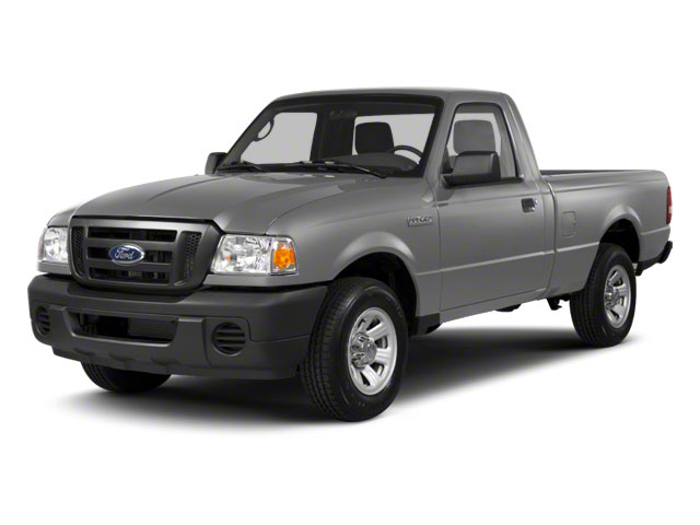 Silver Metallic 2010 Ford Ranger Pictures Ranger Regular Cab XLT (4 Cyl.) photos front view