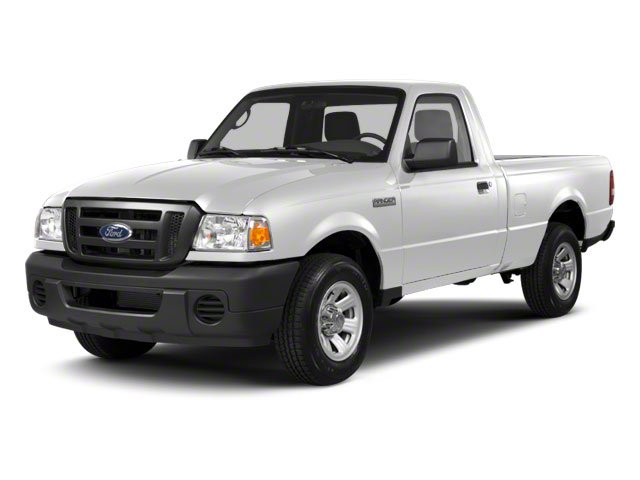 Oxford White 2010 Ford Ranger Pictures Ranger Regular Cab XLT (4 Cyl.) photos front view