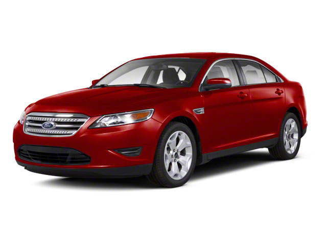 Candy Red Metallic Tinted 2010 Ford Taurus Pictures Taurus Sedan 4D Limited AWD photos front view