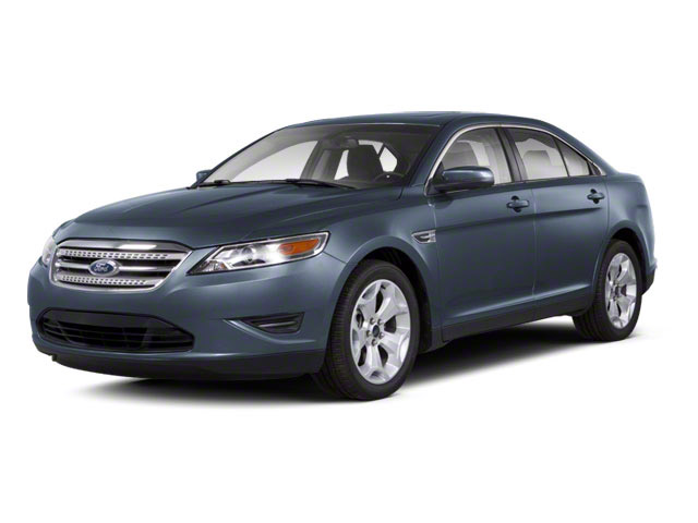 Steel Blue Metallic 2010 Ford Taurus Pictures Taurus Sedan 4D Limited AWD photos front view