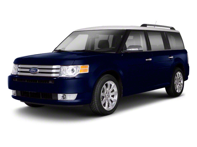 Dark Ink Blue Metallic 2010 Ford Flex Pictures Flex Wagon 4D SEL 2WD photos front view