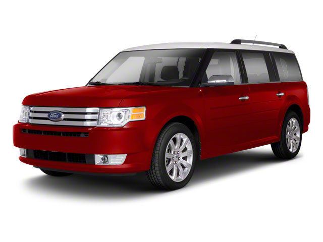 Red Candy Metallic 2010 Ford Flex Pictures Flex Wagon 4D SEL 2WD photos front view