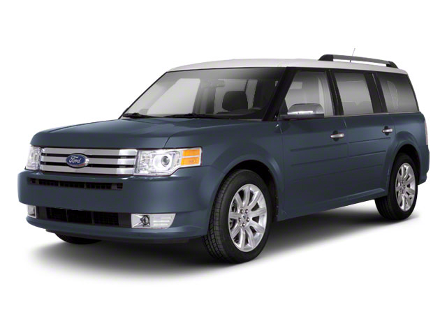 Steel Blue Metallic 2010 Ford Flex Pictures Flex Wagon 4D SEL 2WD photos front view