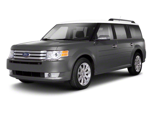 Ingot Silver Metallic 2010 Ford Flex Pictures Flex Wagon 4D SEL 2WD photos front view