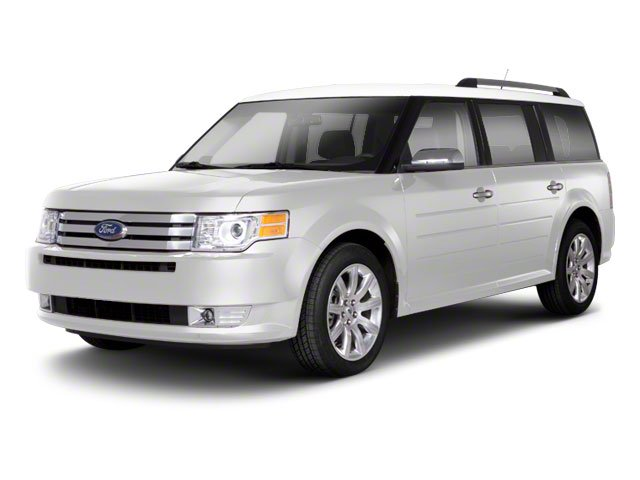White Suede 2010 Ford Flex Pictures Flex Wagon 4D SEL 2WD photos front view