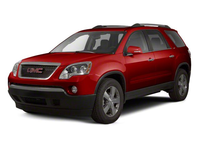 Red Jewel Tintcoat 2010 GMC Acadia Pictures Acadia Wagon 4D SLT AWD photos front view