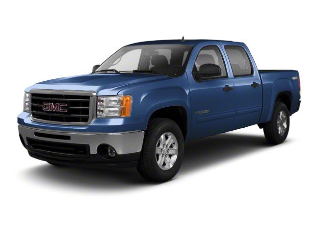 Midnight Blue Metallic 2010 GMC Sierra 1500 Pictures Sierra 1500 Crew Cab SL 4WD photos front view