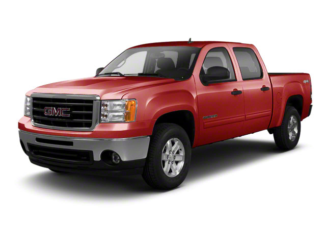 Fire Red 2010 GMC Sierra 1500 Pictures Sierra 1500 Crew Cab SL 4WD photos front view