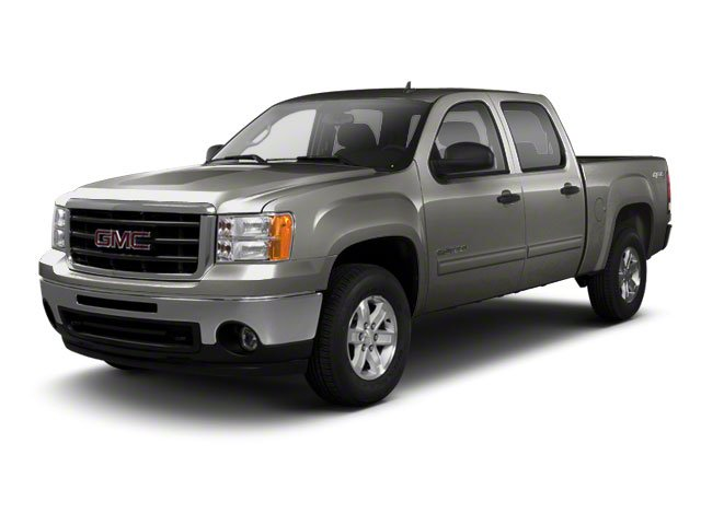 Storm Gray Metallic 2010 GMC Sierra 1500 Pictures Sierra 1500 Crew Cab SL 4WD photos front view