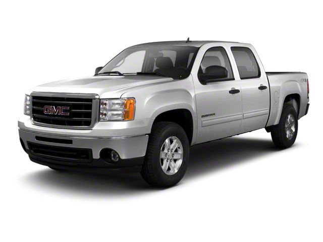 Pure Silver Metallic 2010 GMC Sierra 1500 Pictures Sierra 1500 Crew Cab SL 4WD photos front view