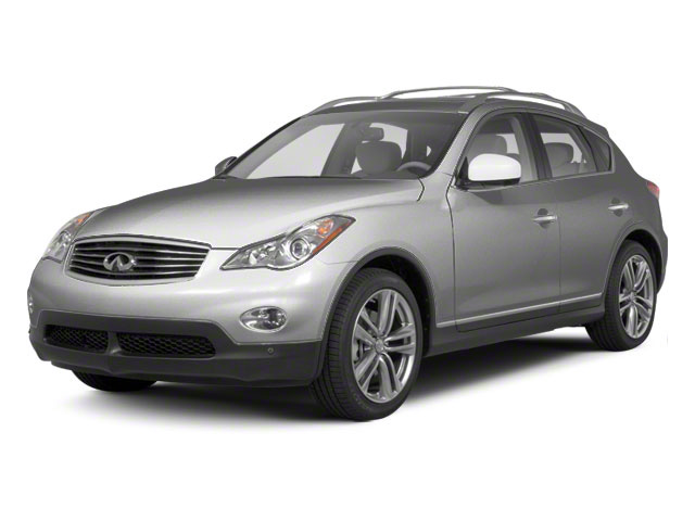 Liquid Platinum Metallic 2010 INFINITI EX35 Pictures EX35 Wagon 4D Journey AWD photos front view
