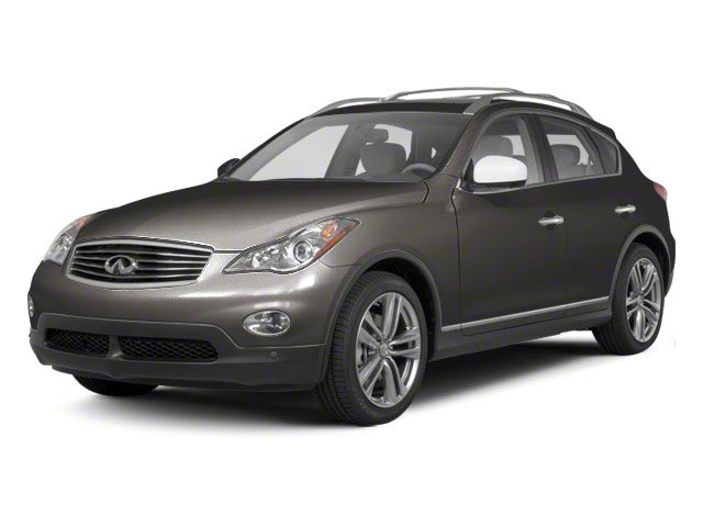 Platinum Graphite Metallic 2010 INFINITI EX35 Pictures EX35 Wagon 4D AWD photos front view