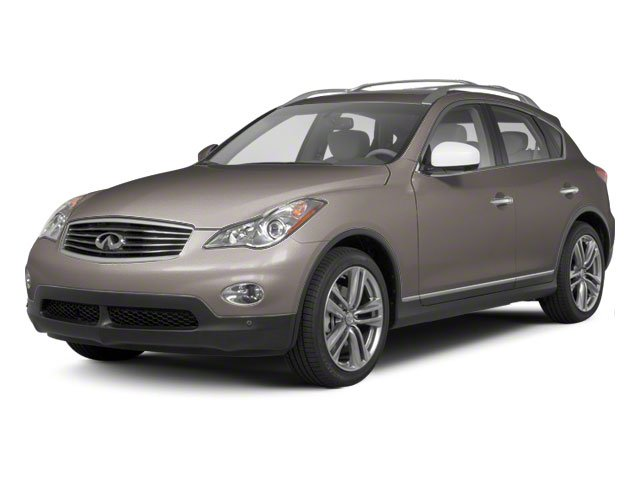 Scarlet Silver Pearl Metallic 2010 INFINITI EX35 Pictures EX35 Wagon 4D Journey AWD photos front view