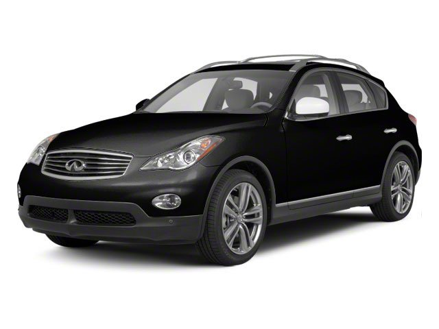 Black Obsidian 2010 INFINITI EX35 Pictures EX35 Wagon 4D Journey AWD photos front view