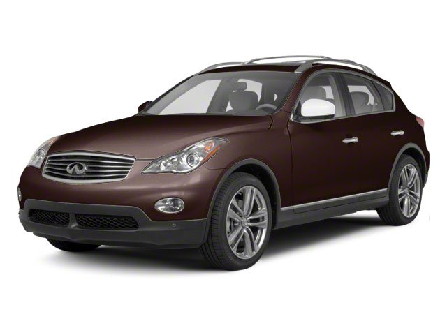 Dark Currant Metallic 2010 INFINITI EX35 Pictures EX35 Wagon 4D Journey AWD photos front view
