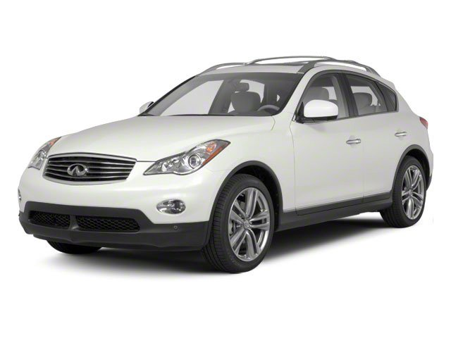 Moonlight White Pearl 2010 INFINITI EX35 Pictures EX35 Wagon 4D Journey AWD photos front view
