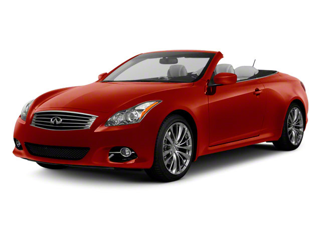 Vibrant Red 2010 INFINITI G37 Convertible Pictures G37 Convertible Convertible 2D 6 Spd photos front view