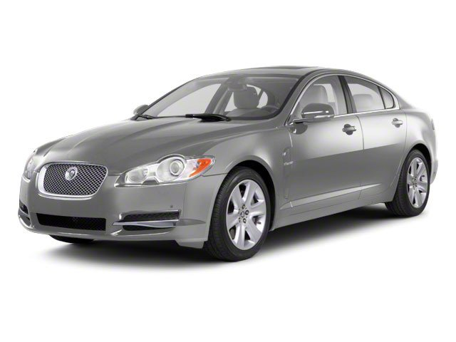 Liquid Silver 2010 Jaguar XF Pictures XF Sedan 4D Supercharged photos front view